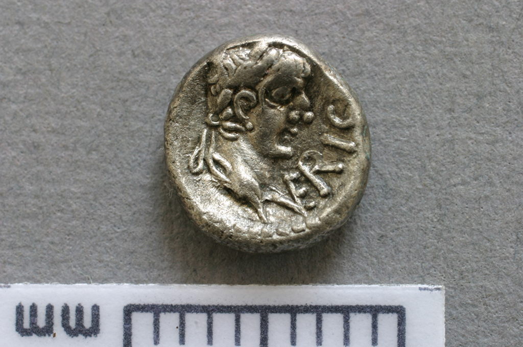Iron Age silver minim of King Verica