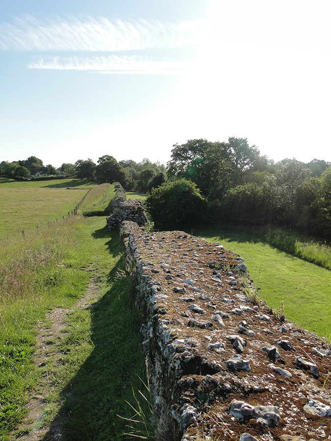 Late 3rd century Town wall south to east