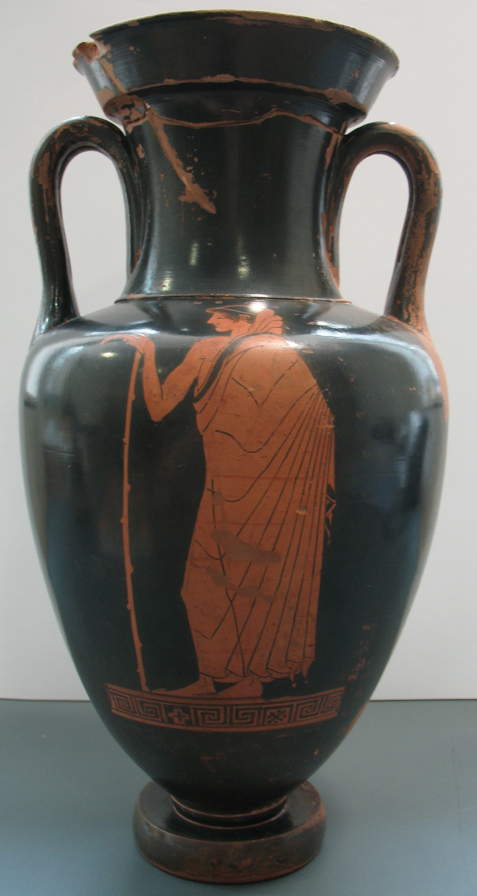 Nolan Amphora showing a boy