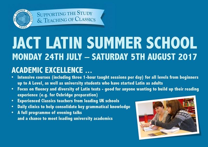 JACT Latin Summer School